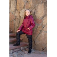 Детский Демисезонный Костюм Fashion Line расцветка Вишня