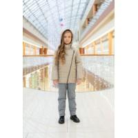 Детский Демисезонный Костюм Fashion Line расцветка Кремовый