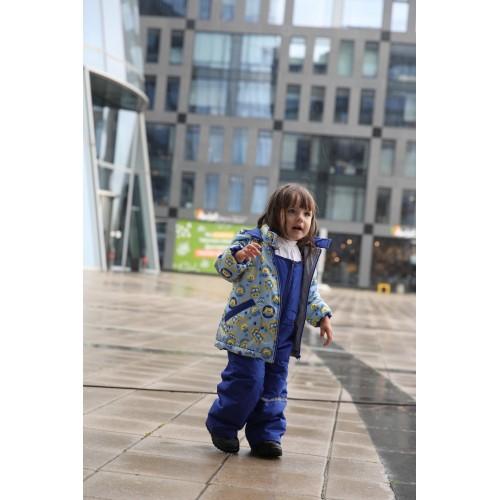 Детский Демисезонный Костюм Бэбик серия Совушка расцветка Ультрамарин