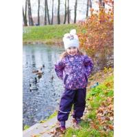 Детский Демисезонный Костюм МИКС расцветка Птицы Баклажан