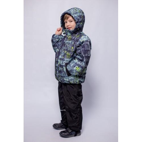 Детский Демисезонный Костюм МИКС расцветка Синий Дизель