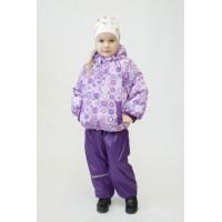 Детский Демисезонный Костюм МИКС расцветка Звезды Фиолет