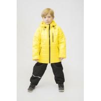 Детский Демисезонный Костюм Спринт расцветка Желтый