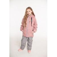 Детский Демисезонный Костюм Тrendy Style расцветка Светло-Серая Роза