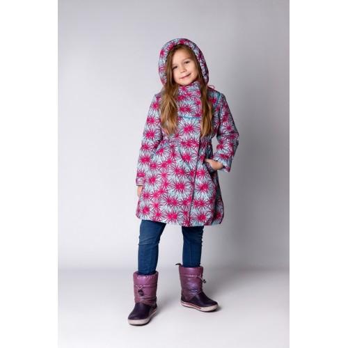 Детское Демисезонное Пальто Ассоль расцветка Искры