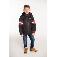 Детская Демисезонная Куртка Джек расцветка Графит