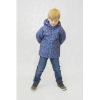 Детская Демисезонная Куртка Донатто расцветка Синий