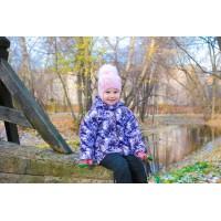 Детская Демисезонная Куртка Донатто расцветка Орхидея