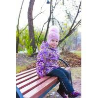 Детская Демисезонная Куртка Донатто расцветка Желтые Цветы