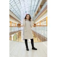 Детское Демисезонное Пальто Go With расцветка Кремовый