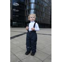 Детский Демисезонный Полукомбинезон Микс расцветка Темно-Синий
