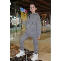Детский спортивный костюм расцветка Серый