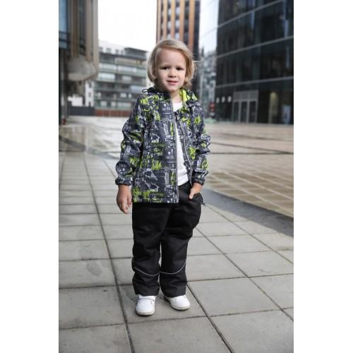 Детская Ветровочная Куртка Softshell расцветка Мокрый Асфальт