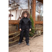 Детский зимний комбинезон Айс расцветка Черный