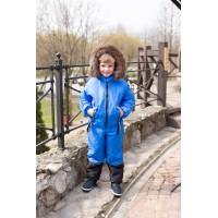 Детский зимний комбинезон Nordway расцветка Василек