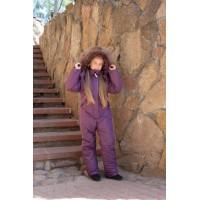 Детский зимний комбинезон Оттава New расцветка Фиолет