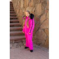 Детский зимний комбинезон Оттава New расцветка Розовый Неон