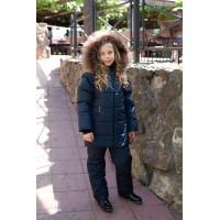 Детский Зимний Костюм Frosty Style расцветка Синий