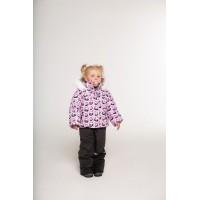 Детский Зимний Костюм Норвегия расцветка Панды Розовый