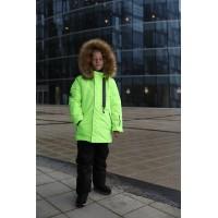 Детский Зимний Костюм Winter Style расцветка Неон