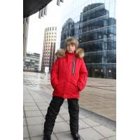Детский Зимний Костюм Winter Style расцветка Красный