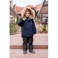 Детский Зимний Костюм Сold Weather расцветка Синий Черный