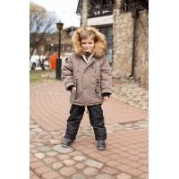Детский Зимний Костюм Сold Weather расцветка Олива Черный