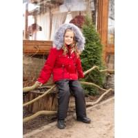 Детский Зимний Костюм Сold Weather расцветка Красный Черный