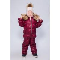 Детский Зимний Костюм Люкс расцветка Бордо