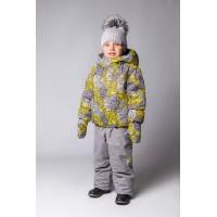 Детский Зимний Костюм Нью Микс расцветка Пион Желтый