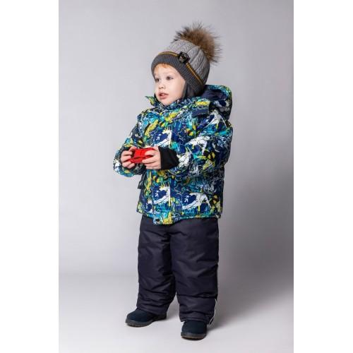 Детский Зимний Костюм New Style расцветка Фристайл Голубой