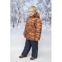 Детский Зимний Костюм New Style расцветка Паркур Оранж