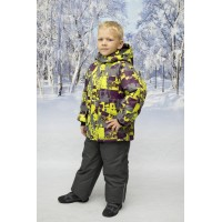 Детский Зимний Костюм New Style расцветка Салат Серый
