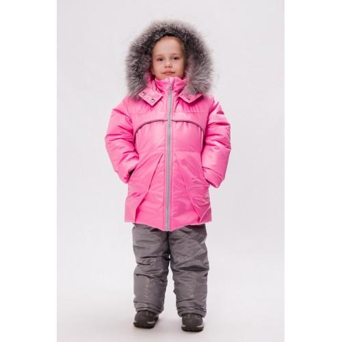 Детский Зимний Костюм Сноу Girl расцветка Роза