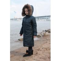 Детское Зимнее Пальто Frost line расцветка Синий