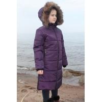 Детское Зимнее Пальто Frost line расцветка Баклажан