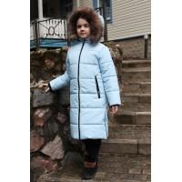Детское Зимнее Пальто Frost line расцветка Голубой