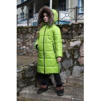 Детское Зимнее Пальто Frost line расцветка Салат