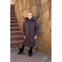 Детское Зимнее Пальто Frost line расцветка Шоколад