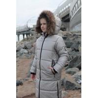 Детское Зимнее Пальто Frost line расцветка Серебро