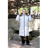 Детское Зимнее Пальто Frost line расцветка Светло-Серый