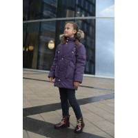 Детская Зимняя Куртка-Парка Ванкувер расцветка Фиолет