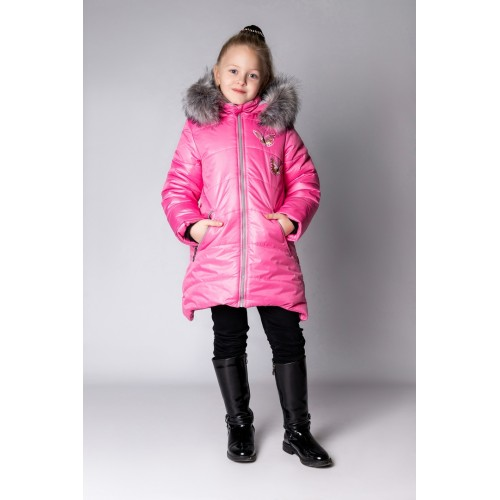 Детское Зимнее Пальто Армель расцветка Роза